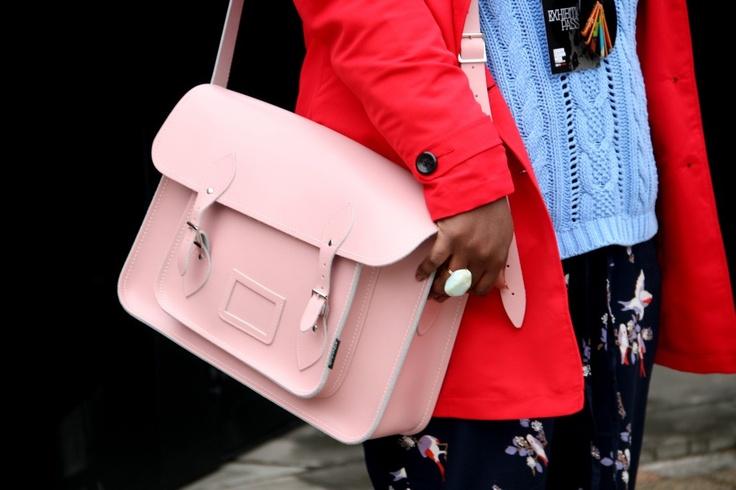 サッチェルバッグ<Pastel Collection / Pastel Pink>