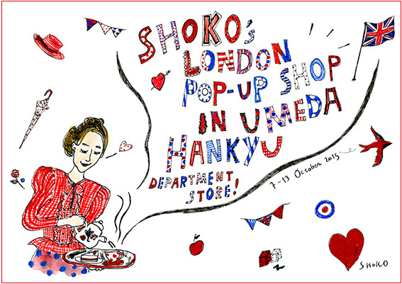 SHOKO POP-UP SHOP IN UMEDA HANKYU