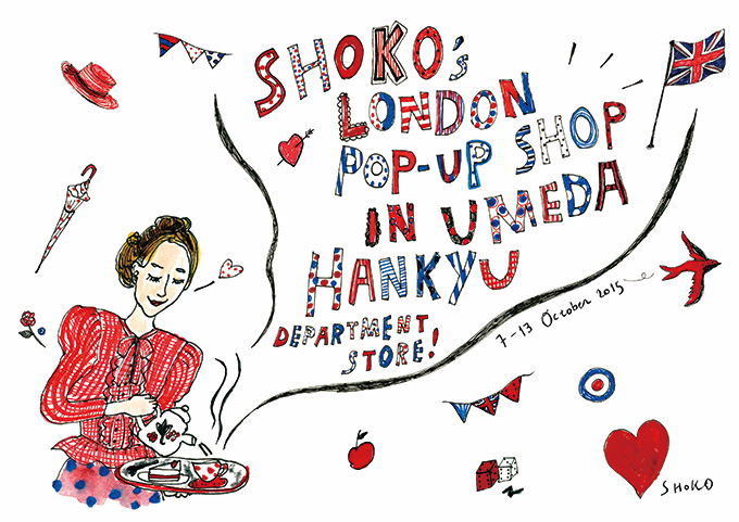 SHOKO'S LONDON POP-UP SHOP
